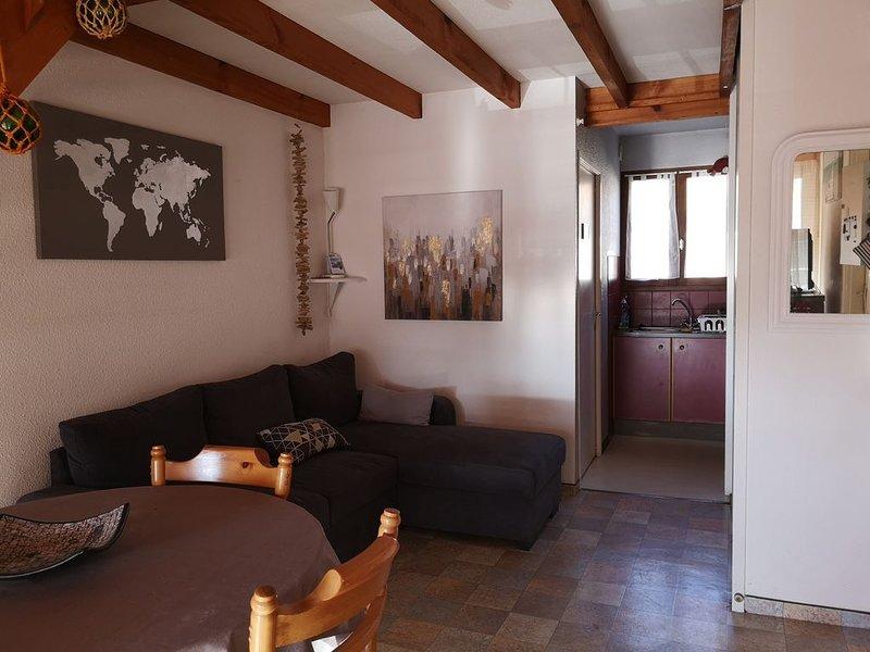 Appartement T2 mezzanine résidence bord de mer, location de vacances à Capbreton