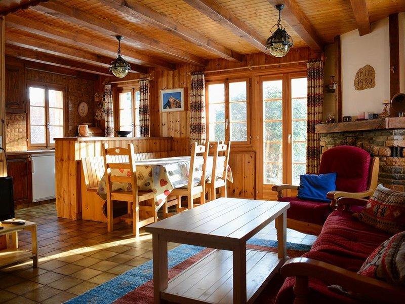 Chalet ''Le Roitelet'', aluguéis de temporada em Evolene