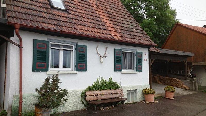 Ferienhaus im Donautal, Jagdhüsli, holiday rental in Mengen