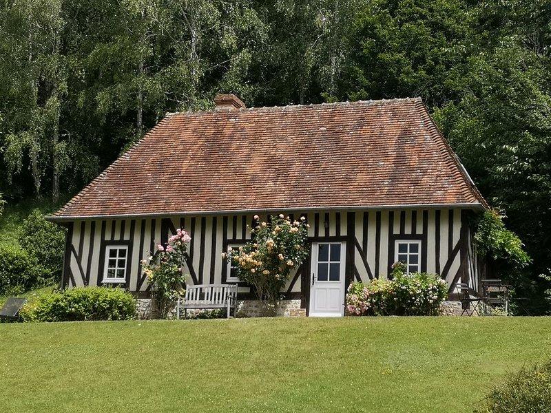 Saint Julien de Mailloc - Le gite du Manoir - région Lisieux - Pays d auge -, holiday rental in Orbec