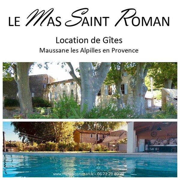 Le Mas Saint Roman, OULIVETO, vacation rental in Saint-Martin-de-Crau