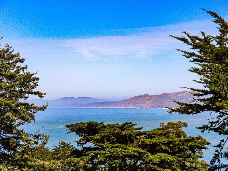 A place to listen to birds, breathe fresh air and feast your eyes on the ocean, vacation rental in Pacifica