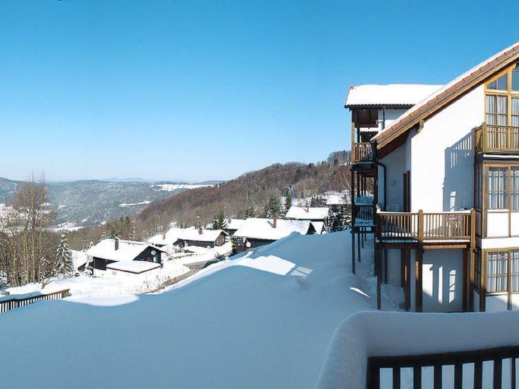 Ferienwohnung Sonnenwald Typ D (LFU103) in Langfurth - 4 Personen, 1 Schlafzimme, holiday rental in Eging am See