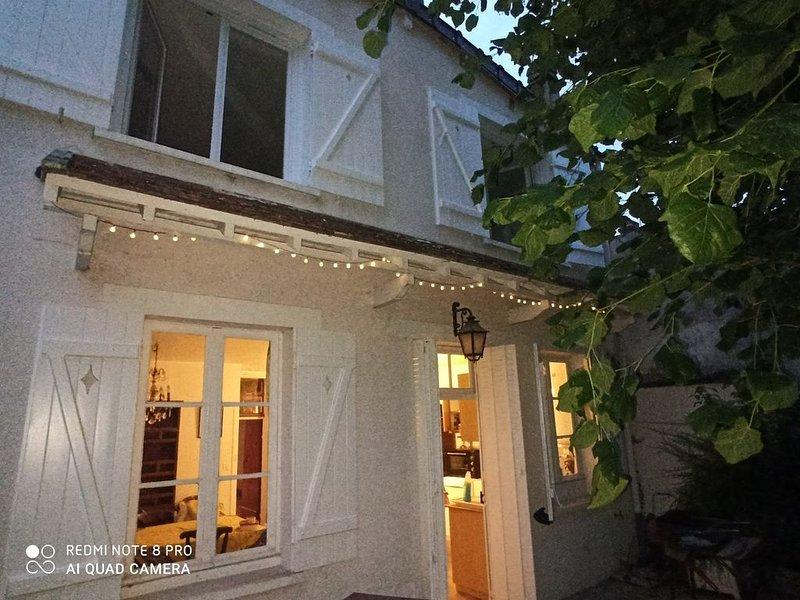 Grande Maison de campagne, lieu de détente et de visites. Cheminée, bois fourni, holiday rental in Sainte-Colombe