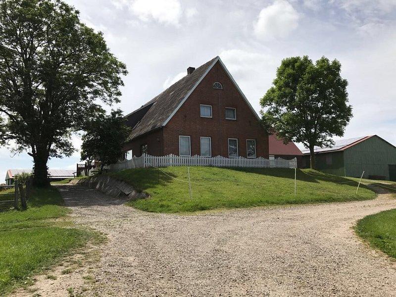 Urlaub auf dem Bauernhof, vakantiewoning in Breklum