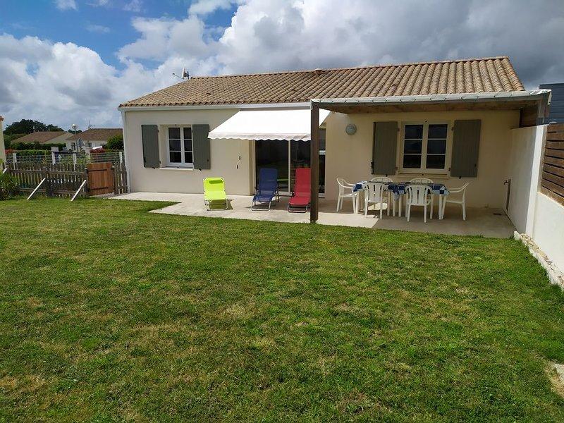 Maison de vacances au pied des pistes cyclables à 5 km des plages, Ferienwohnung in L'Aiguillon-sur-Vie