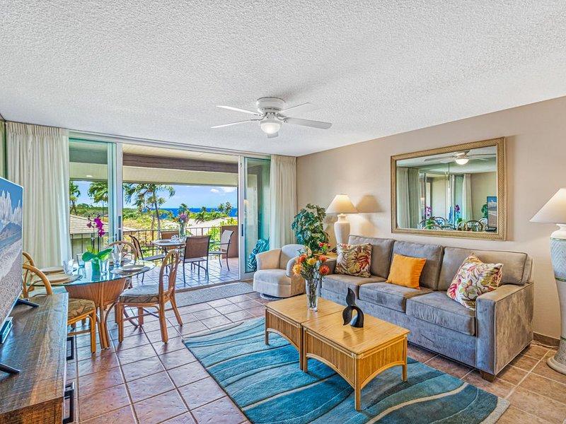 Ocean view, 1 bed & 2 full bathrooms. Condo at Maui Eldorado, Kaanapali  Maui HI – semesterbostad i Ka'anapali