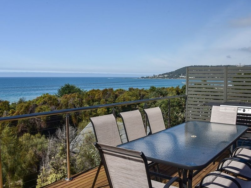 Ocean view house opposite the beach, holiday rental in Pennyroyal