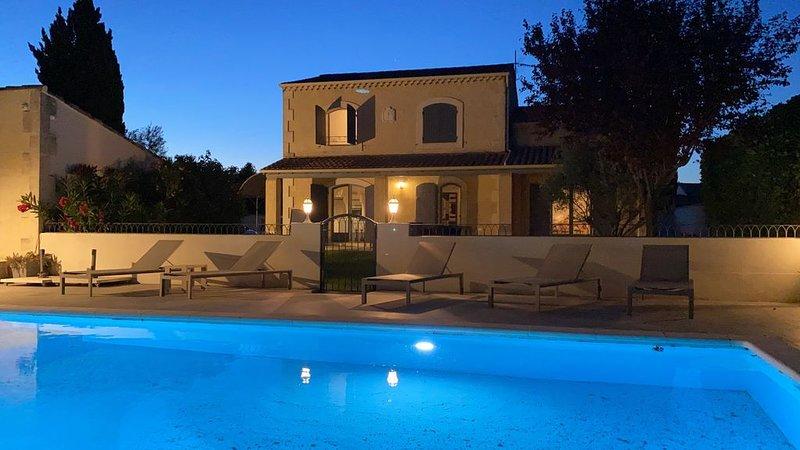 Villa Solead  Saint Rémy de Provence, vacation rental in Saint Andiol