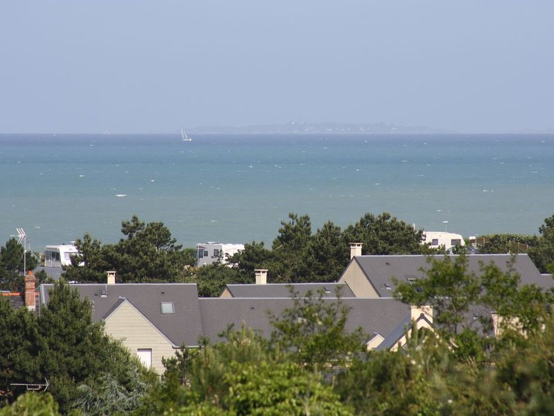 appartement vue mer  baie du Mont st Michel, vacation rental in Saint-Pair-sur-Mer