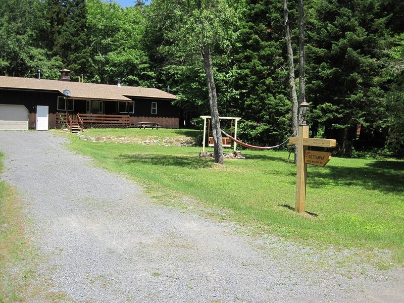 Adirondack living in White Lake, holiday rental in Glenfield