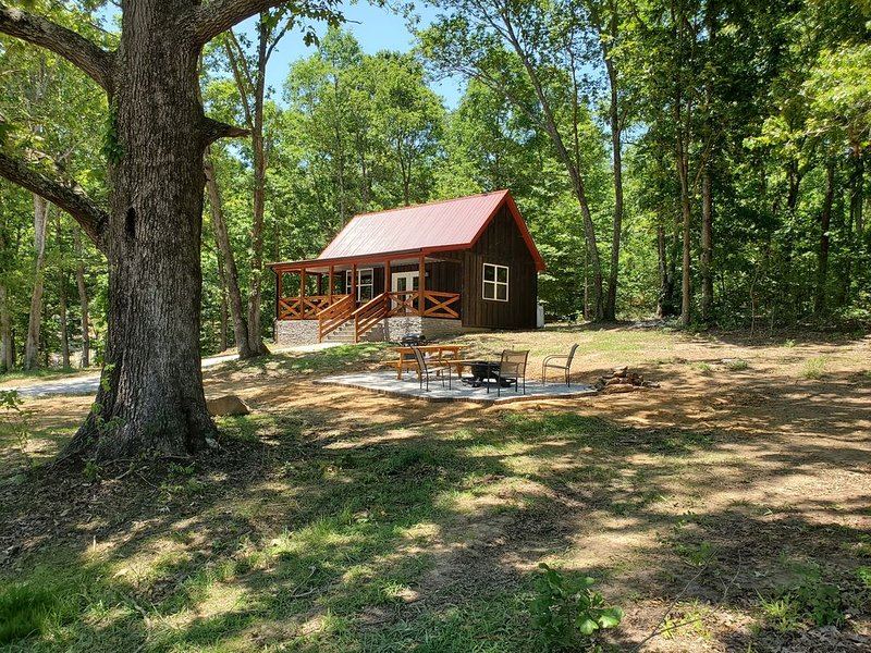 Cozy Rustic Cabin With All The Extras., holiday rental in Hopkinsville