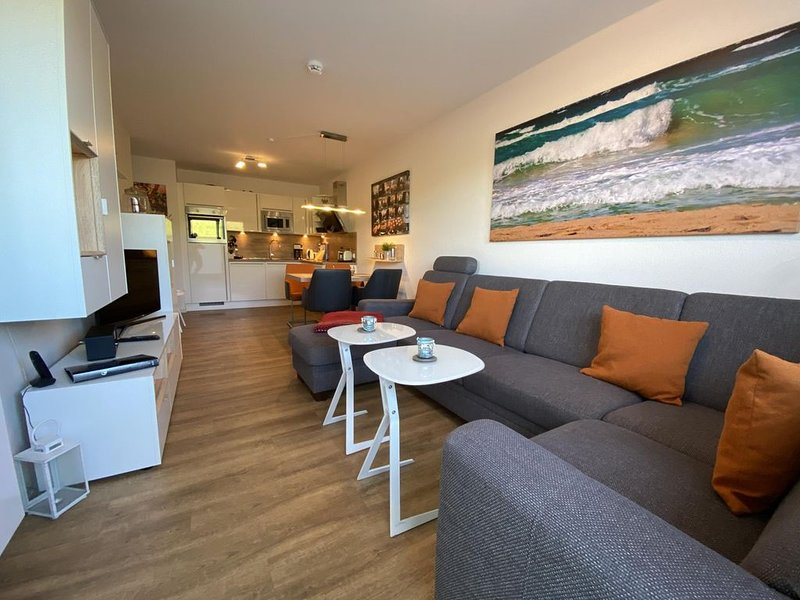 Residenz Windjammer, Dünenweg 6, Whg. 2 , nur 4 min zu Fuß zum schönen Sandstran, casa vacanza a Duhnen