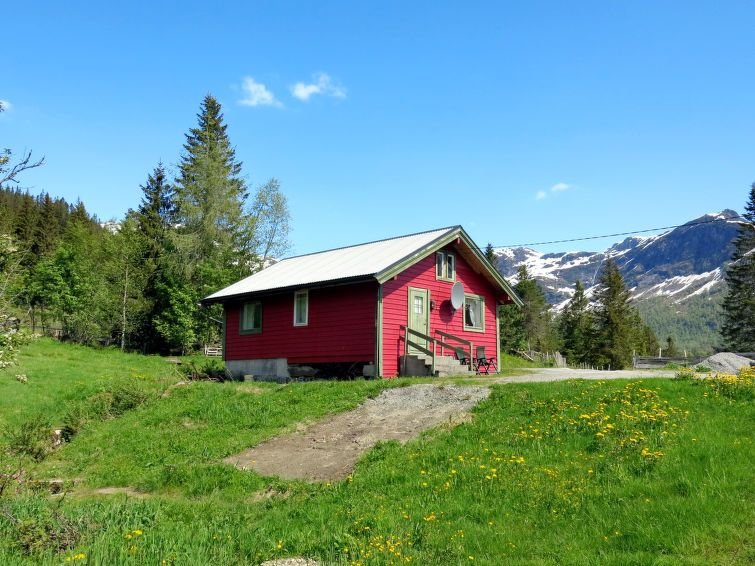 Ferienhaus Haukedalsblikk (FJS070) in Haukedalsvatn - 3 Personen, 1 Schlafzimmer, holiday rental in Hjelle