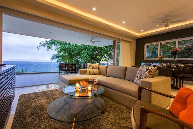 3 BR Sayan Beach 2500 SF Luxury Oceanfront Condo, vacation rental in Puerto Vallarta