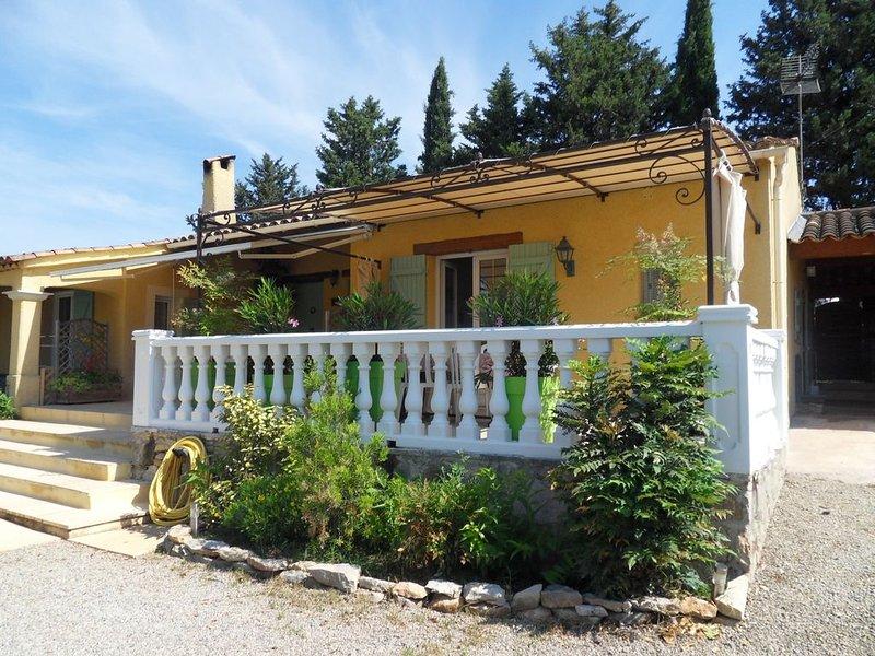 Meublé touristique *** La Désirade, holiday rental in Lorgues