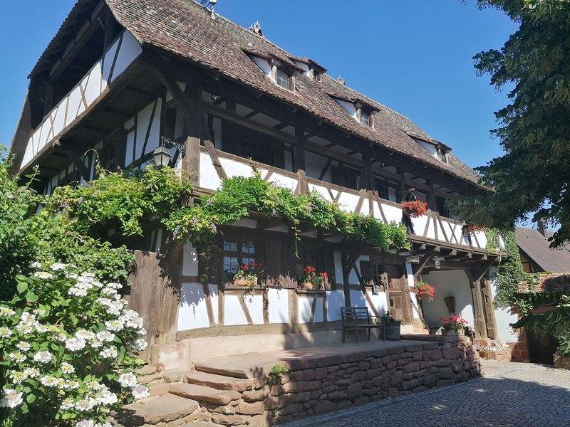 ❤️Superbe maison d'exception de 200m2 dans le plus vieux corps de ferme d'Alsace, casa vacanza a Lichtenberg