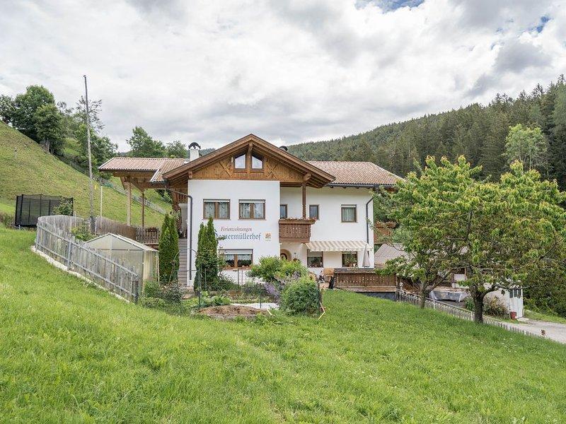 Gemütliche Ferienwohnung Boznermüllerhof-Sonnenblume mit WLAN, Balkon und Blick, location de vacances à Postal