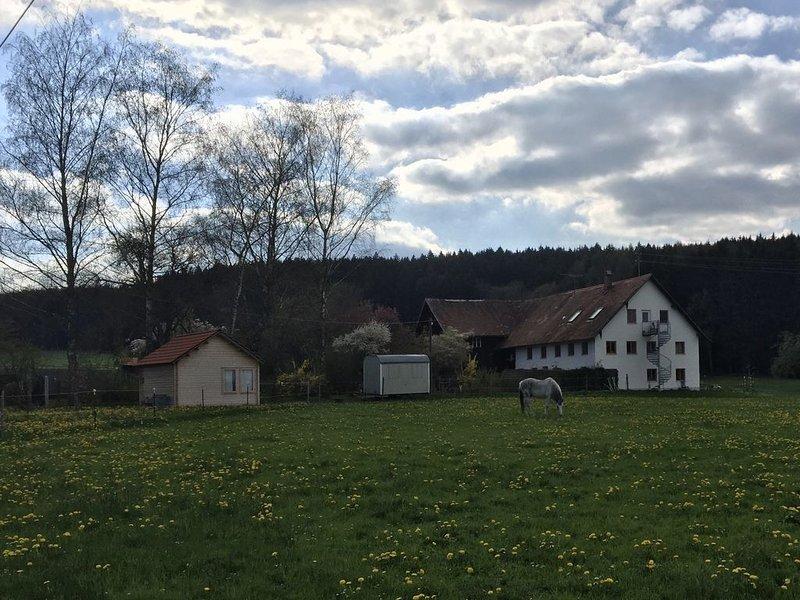 Urlaub auf dem Nikolinenhof - Ferienwohnung, casa vacanza a Aitrach