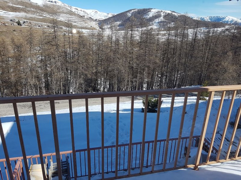 Valberg, Chalet mitoyen pour 12 personnes, holiday rental in Valberg