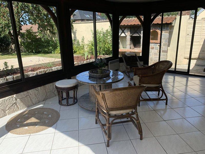l'art déco, maison chaleureuse 100m2 proche de la mer, holiday rental in Varengeville-sur-Mer