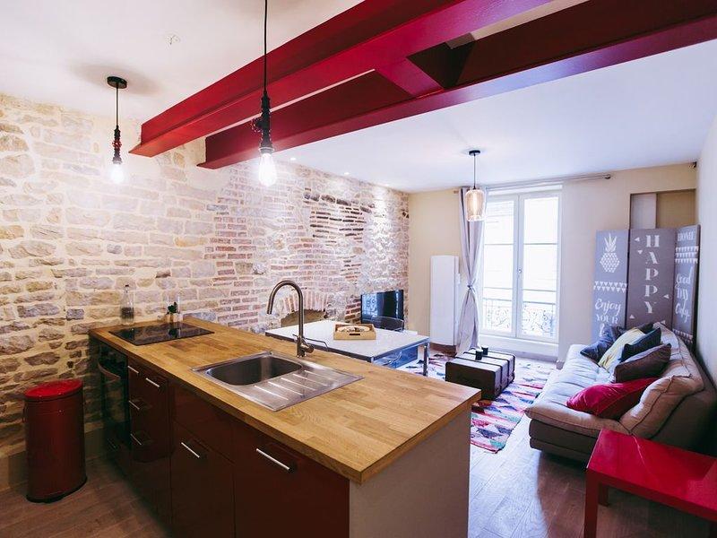 Dormez au coeur de Dijon !, vacation rental in Genlis