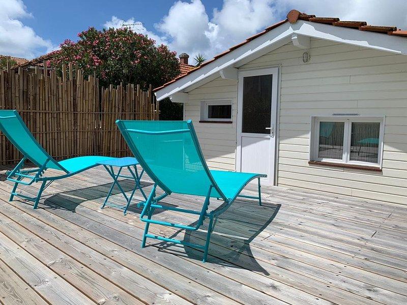 VILLA CENTRE CAP-FERRET 3 CHAMBRES 6 PERSONNES, holiday rental in Lege-Cap-Ferret