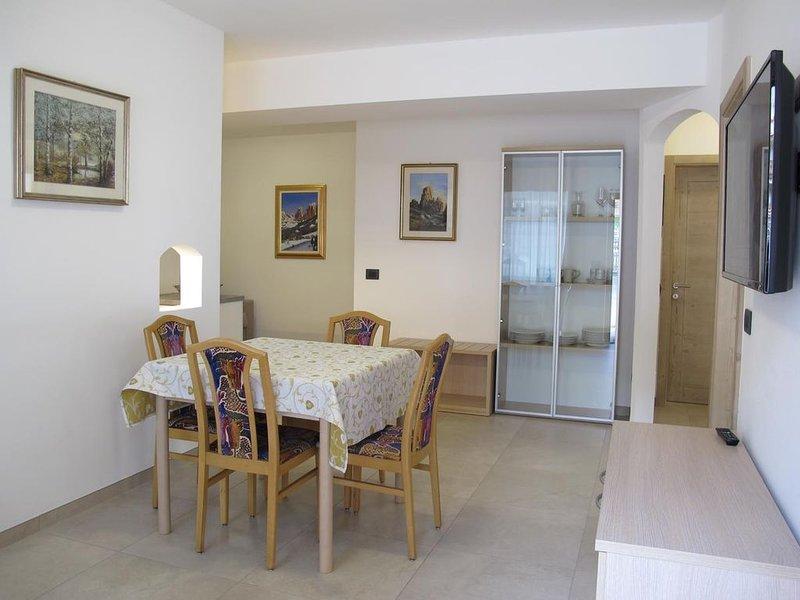 Apartment 100 mt to Sellaronda lift, location de vacances à Cercena