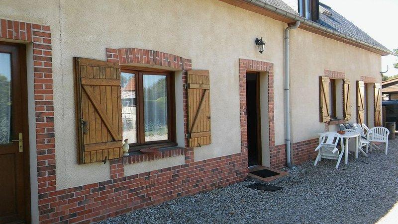 Maison 3 chambres à varengeville sur mer dans propriété privée, holiday rental in Quiberville