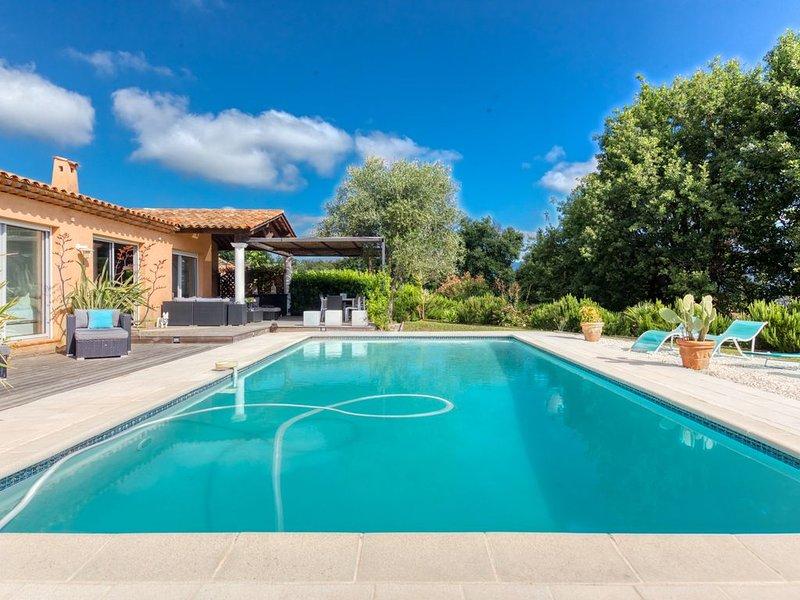 Cote d'Azur (BIOT) Superbe villa 8/10 couchages piscine privée, vacation rental in Biot
