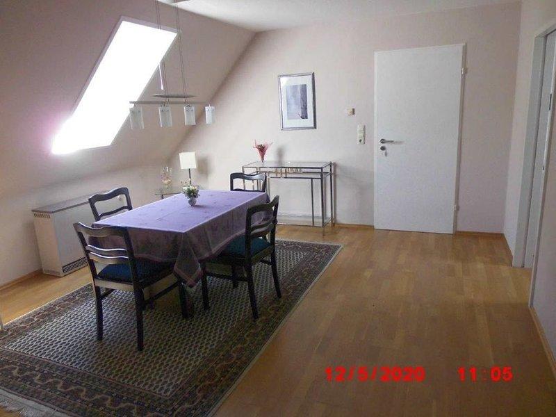 Ferienwohnung (90qm) mit Garten und Pavillon, holiday rental in Kronach