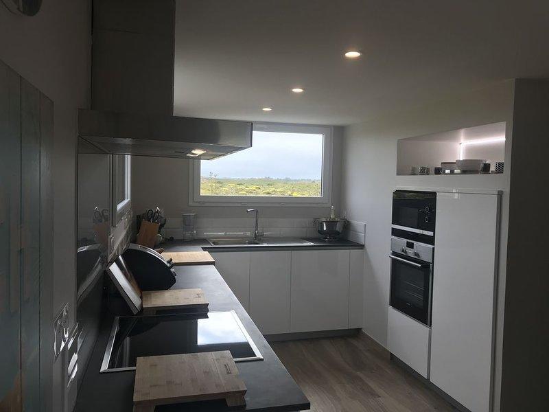 Maison entre mer et dunes, holiday rental in Bolleville