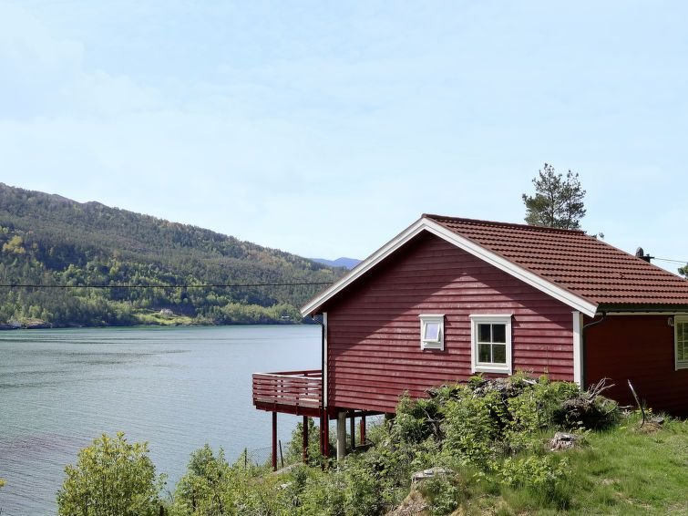 Ferienhaus Rød Hytte (FJH774) in Herand - 6 Personen, 3 Schlafzimmer, location de vacances à Granvin
