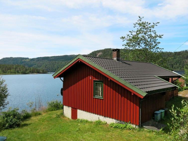 Ferienhaus Staksholmen (SOW725) in Konsmo - 6 Personen, 3 Schlafzimmer, holiday rental in Haegebostad Municipality