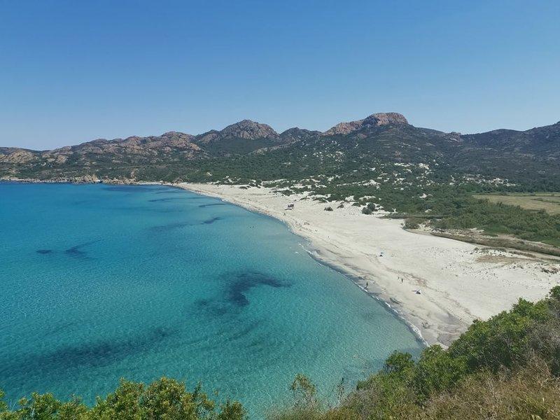 Maison 80m2 Bd de mer à pied 2ch 2 bains Clim WifiFibre jard Park à code 5 pers, alquiler de vacaciones en Borgo