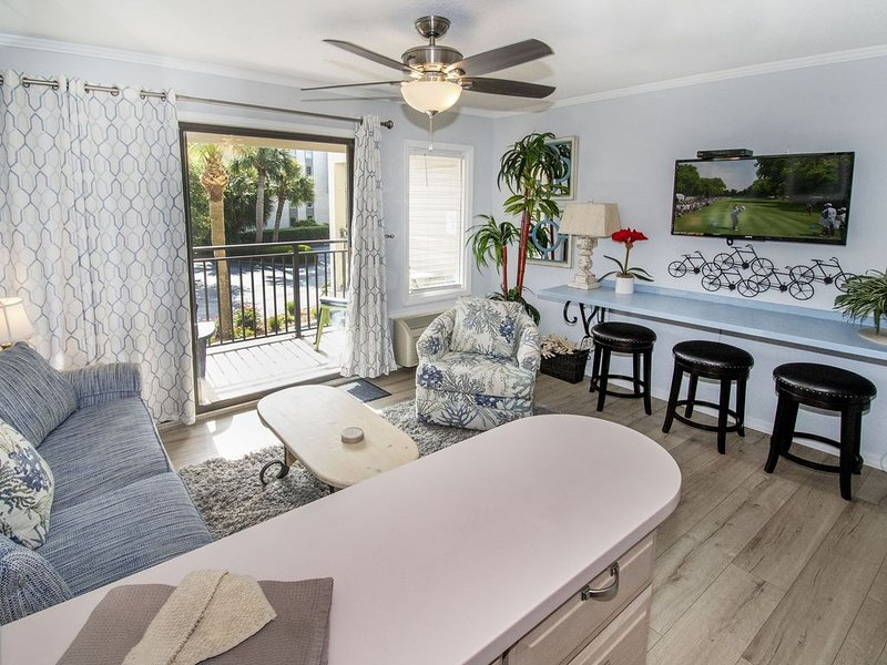 OCEAN VIEW!  South Forest Beach~ Coligny Area! UPDATED~1 BD, 1 BA, vacation rental in Daufuskie Island