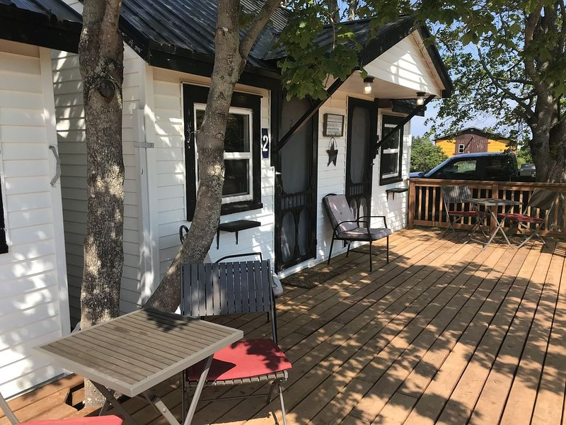 The Coastal Cabins- Cape Tormentine - Coastal Cabin # 5 - 2 double beds, walking, casa vacanza a Bayfield