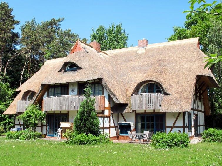 Apartment Ferienwohnung Alk  in Born / Darß, Baltic Sea: Mecklenburg - 4 person, vacation rental in Born