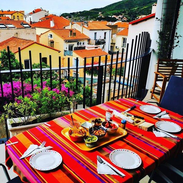 T2 de 54 m2 au 2° étage 2/4 pers 1 chambre wifi climatisation parking ascenseur, alquiler de vacaciones en Port-Vendres