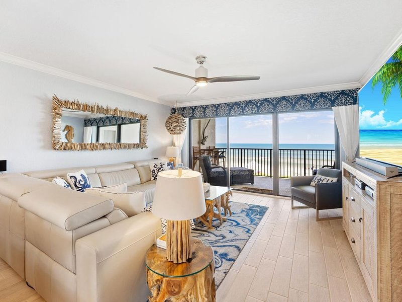 Why settle for less, when you can stay at the best. Direct ocean w/Amazing view, vacation rental in New Smyrna Beach