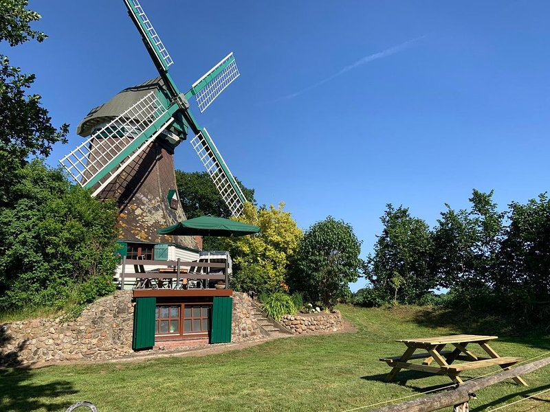 Windmühle ' Fortuna 1853 ', holiday rental in Hennstedt