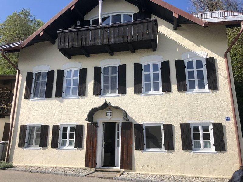 EG, stilvoll wohnen im ehemals herzoglichen Gästehaus, location de vacances à Trostberg an der Alz