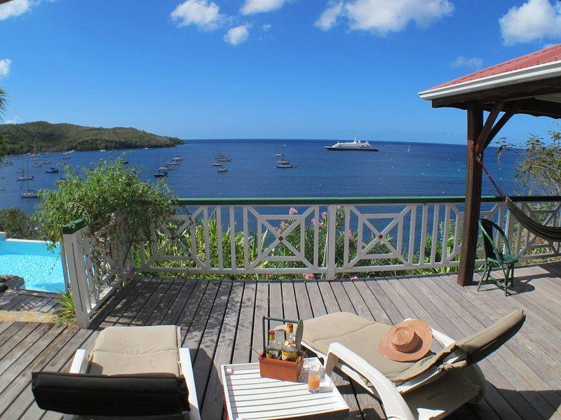 Villa Cap Ouest - Piscine privée et accès mer privé - Grande Anse, holiday rental in Les Anses d'Arlet
