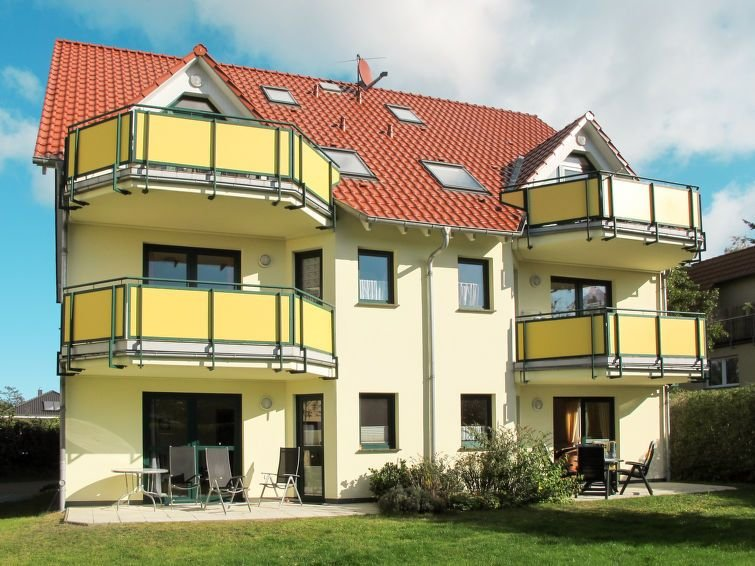 Vacation home Ostseetrio  in Zinnowitz, Usedom - 4 persons, 1 bedroom, alquiler vacacional en Bannemin