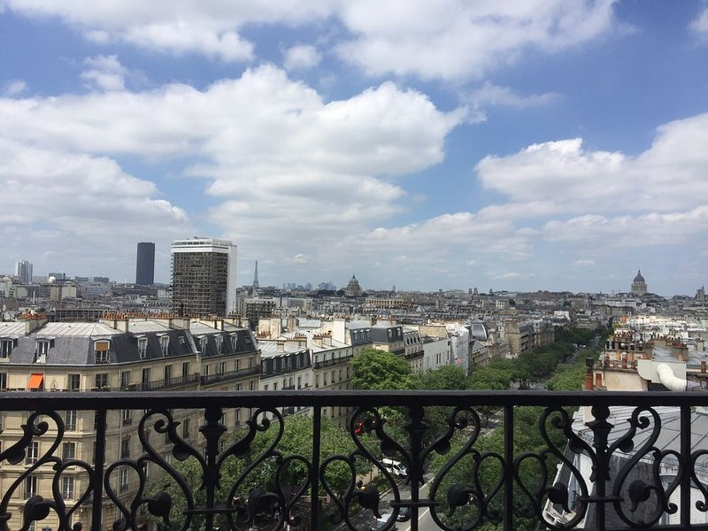 The most beautiful view of Paris, holiday rental in Gentilly