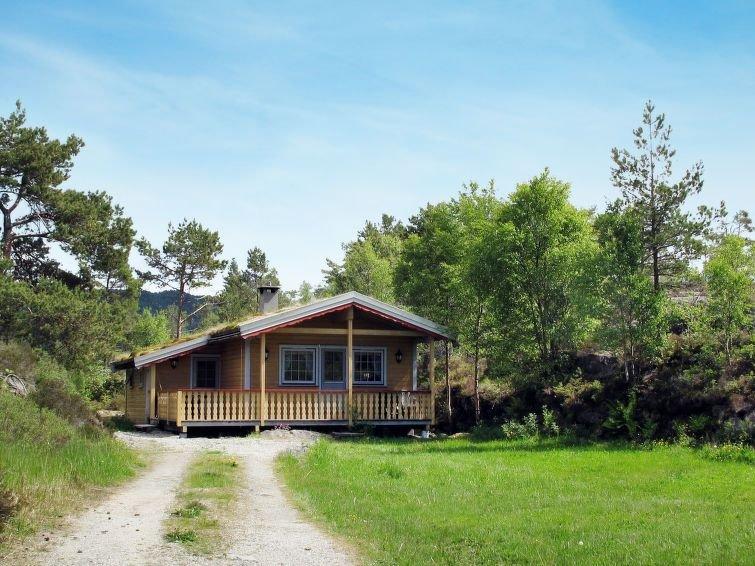 Ferienhaus Solbakken (FJS547) in Hellevik I Fjaler - 4 Personen, 2 Schlafzimmer, location de vacances à Sogn og Fjordane