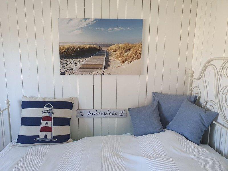 NEU hier und freie Sommertermine ! Einfache und gemütliche Fewo 'Unter Deck', casa vacanza a Admannshagen-Bargeshagen