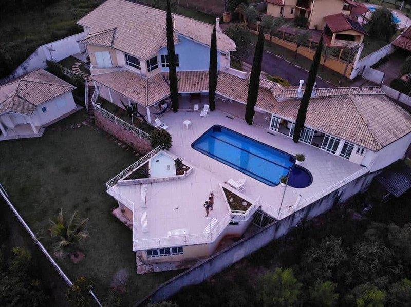 Casa de Campo/Golf Club/Condominio Fechado/80 minutos de Sâo Paulo, location de vacances à Jarinu