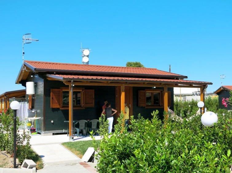 Ferienhaus Camping Green House Village (TDS150) in Torino di Sangro - 4 Personen, alquiler vacacional en Fossacesia Marina