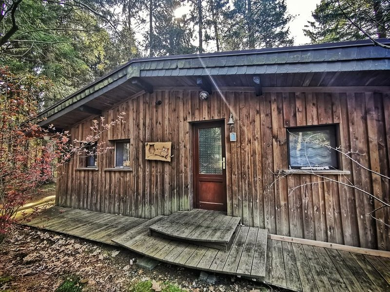 Idyllisches Ferienhaus Waldkate, vacation rental in Lamstedt